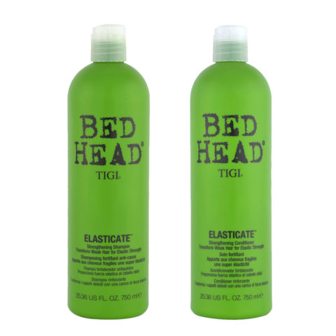 Tigi Kit Elasticate Shampoo 750ml   Elasticate Conditioner 750ml