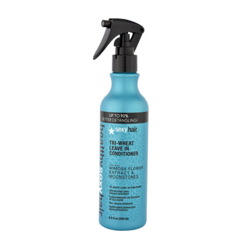 Healthy Sexy Hair Tri-Wheat Leave In Conditioner Mimosa flower moonstones 250ml
