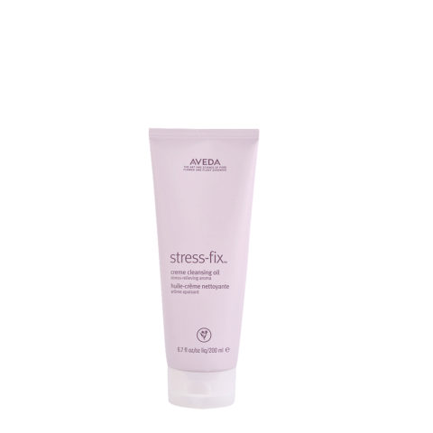 Aveda Bodycare Stress-Fix Creme Cleansing Oil 200ml - detergent oil in creme