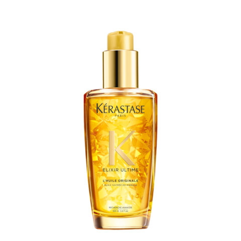 Kerastase Elixir Ultime L'Huile Originale 100ml - Hydrating Antifrizz Hair Oil