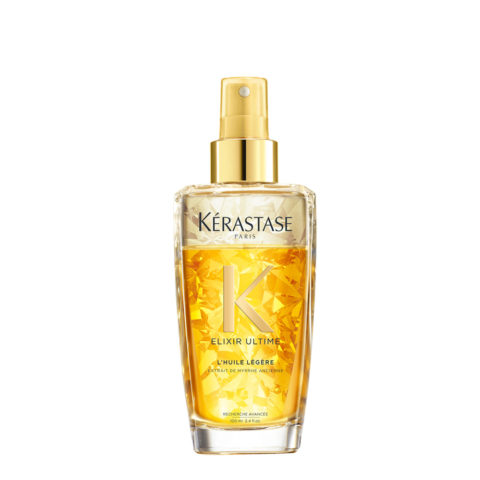 Kerastase Elixir Ultime L'Huile Legere 100ml - biphasic oil for fine hair