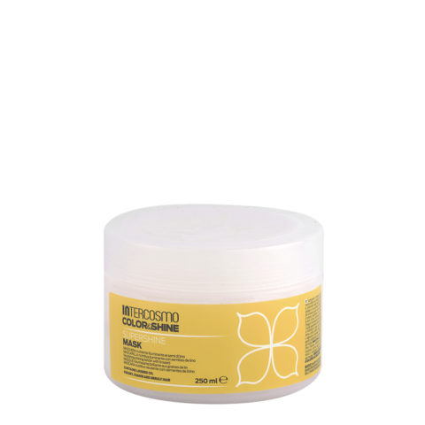 Intercosmo Color & Shine Supershine Mask 250ml - nourishing shining mask with linseed