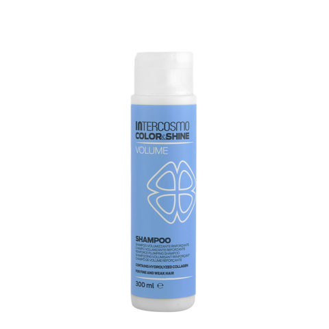 Intercosmo Color & Shine Volume Shampoo 300ml - reinforce plumping shampoo