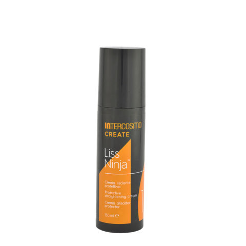 Intercosmo Create 1 Liss Ninja 150ml - protective straightening cream