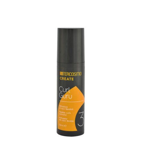 Intercosmo Create 3 Curl Guru 150ml - flexible curls activator