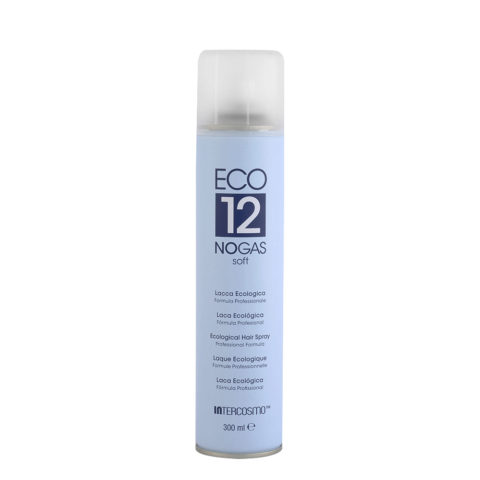 Intercosmo Styling Eco 12 No Gas Soft 300ml - light hold ecological hairspray
