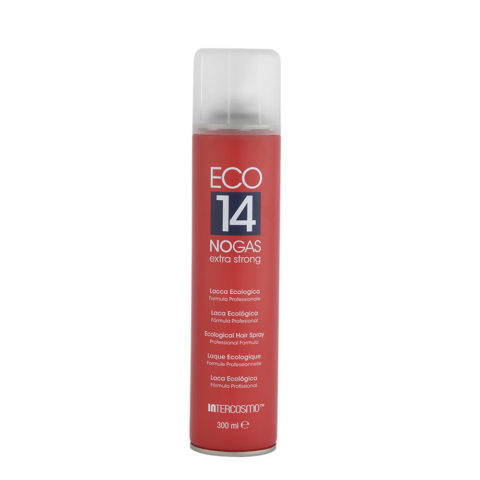 Intercosmo Styling Eco 14 No Gas Extra Strong 300ml - ecological hairspray