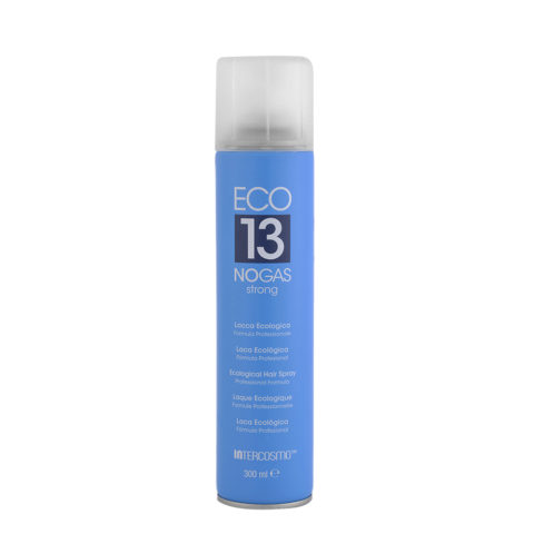 Intercosmo Styling Eco 13 No Gas Strong 300ml - strong eco-friendly hairspray