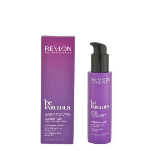 Revlon Be Fabulous Hair Recovery Ends Repair Serum 80ml - double-ended serum