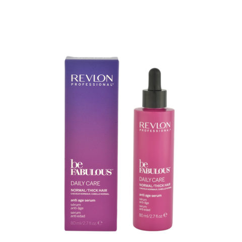 Revlon Be Fabulous Daily care Normal / thick hair Anti age serum 80ml - anti-aging serum thick hair