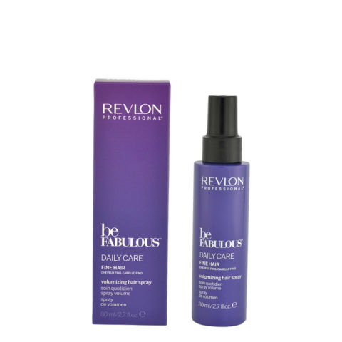 Revlon Be Fabulous Daily Care Fine hair Volumizing hair spray 80ml - fine hair volume spray
