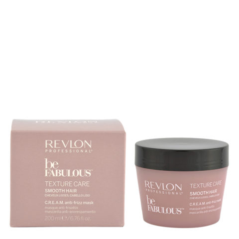 Revlon Be Fabulous Smooth hair Cream Anti-frizz Mask 200ml - anti-friss mask straight hair