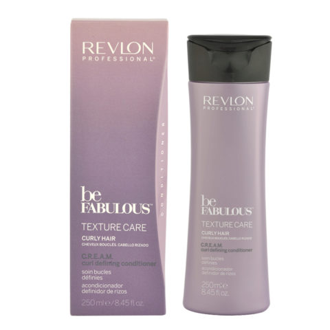 Revlon Be Fabulous Curly hair Cream Curl defining Conditioner 250ml - balm definition curly hair