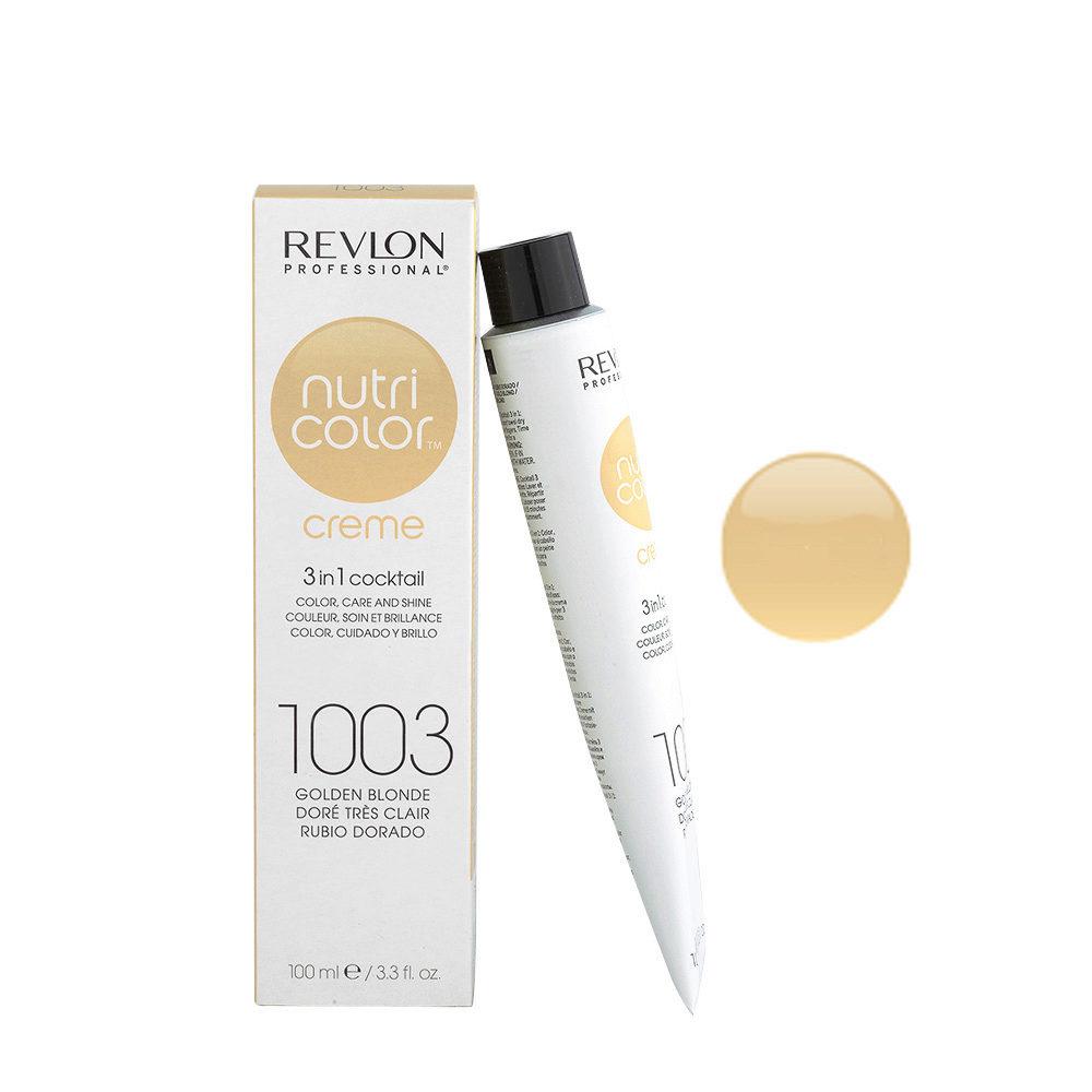 Super Revlon Nutri Color Creme 1003 Golden blonde 100ml - color mask QM-39