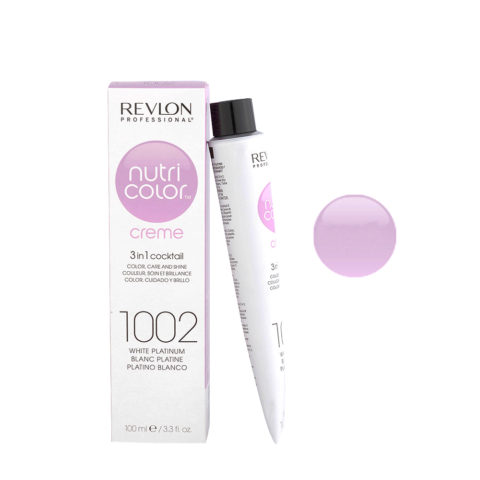 Revlon Nutri Color Creme 1002 White platinum 100ml - color mask