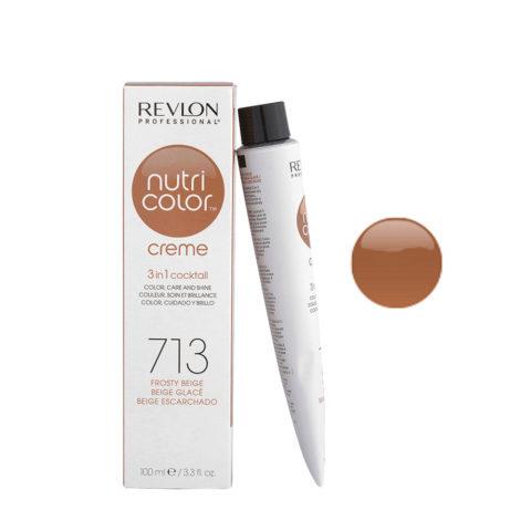 Revlon Nutri Color Creme 713 Frosty beige 100ml - color mask