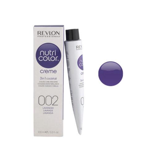 Revlon Nutri Color Creme 002 Lavender 100ml - color mask