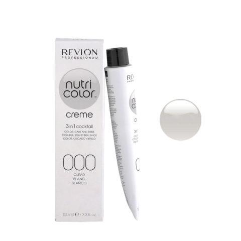 Revlon Nutri Color Creme 000 Clear 100ml - color mask
