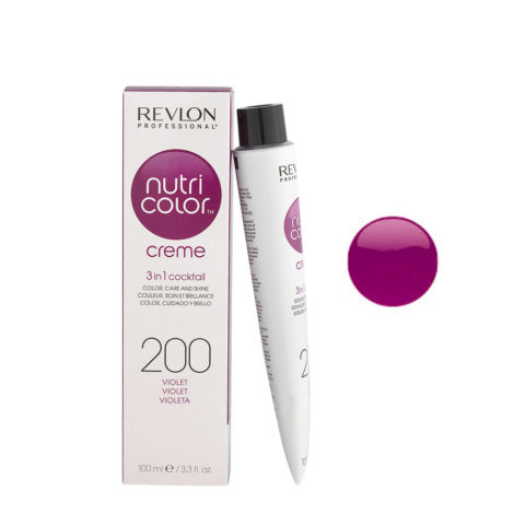 Revlon Nutri Color Creme 200 Violet 100ml - color mask
