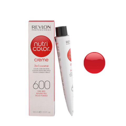 Revlon Nutri Color Creme 600 Fire red 100ml - color mask