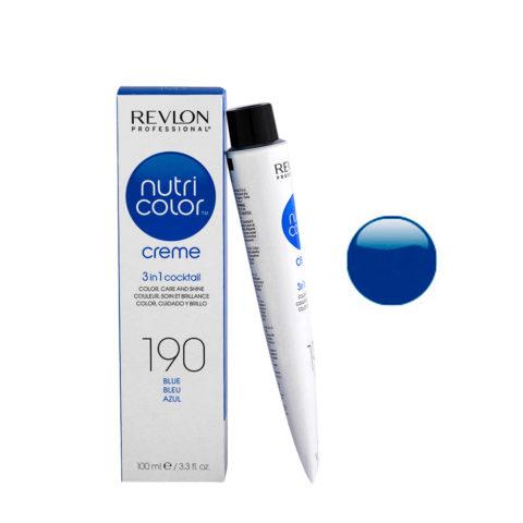 Revlon Nutri Color Creme 190 Blue 100ml - color mask