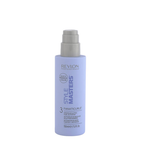 Revlon Style Masters Curly 3 Fanaticurls 150ml - strong sculpted curl activator