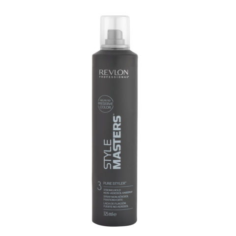Revlon Style Masters The Must haves 3 Pure Styler 325ml - Strong hold non-aerosol Hairspray