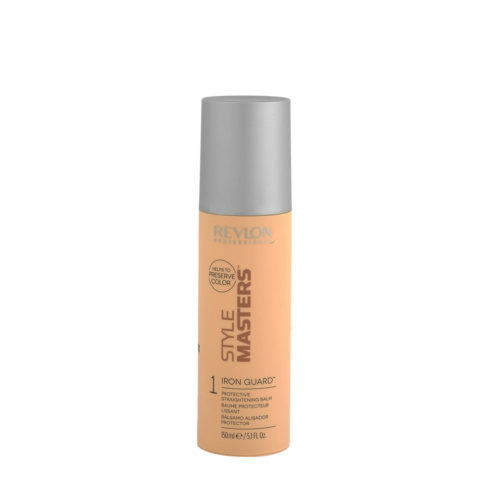 Revlon Style Masters Smooth 1 Iron Guard 150ml - protective straightening balm