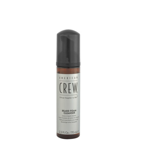 American Crew Beard Foam Cleanser 70ml - leave in beard cleanser