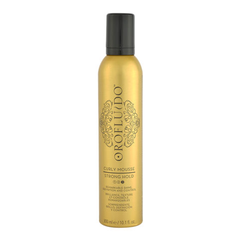 Orofluido Curly Mousse Strong Hold 300ml - strong hold mousse