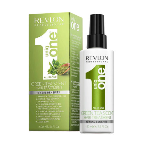 Uniq one All in one hair treatment Spray Green tea 150ml - all in 1