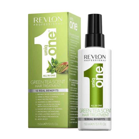 Uniq one All in one hair treatment Spray Green tea 150ml - all in 1