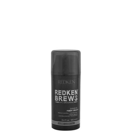Redken Brews Man Dishevel Fiber Cream 100ml - fibrous cream