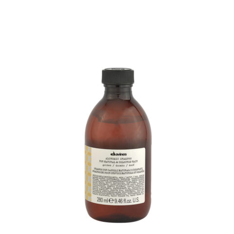 Davines Alchemic Shampoo Golden 280ml - for golden-blonde hair