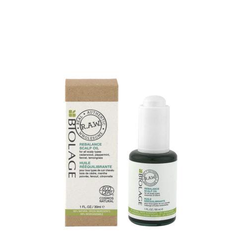 Biolage RAW Rebalance Scalp Oil 30ml