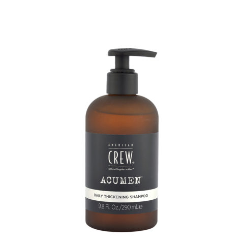 American Crew Acumen Daily Thickening Shampoo 290ml - Thin Hair