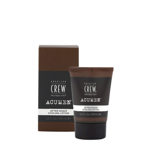 American Crew Acumen After Shave Cooling Lotion 100ml - Refreshing After Shave Lotion