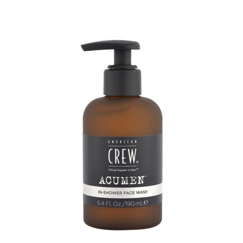 American Crew Acumen In-Shower Face Wash 190ml - Face Cleanser