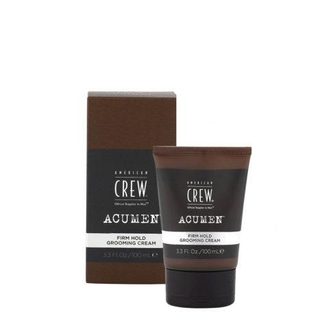 American Crew Acumen Firm Hold Grooming Cream 100ml - Hair Texturiser