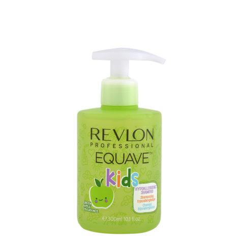 Revlon Equave Kids Hypoallergenic Shampoo Green Apple 300ml - hypoallergenic children's shampoo
