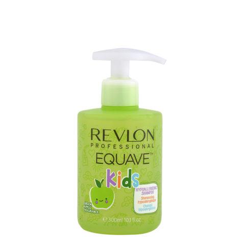 Revlon Equave Kids Hypoallergenic Shampoo Green Apple 300ml - hypoallergenic children's shampoo