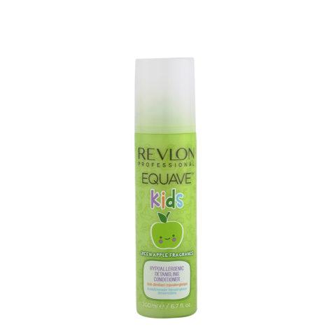 Revlon Equave Kids Green Apple Hypoallergenic Detangling conditioner 200ml - Hypoallergenic children's balsam spray