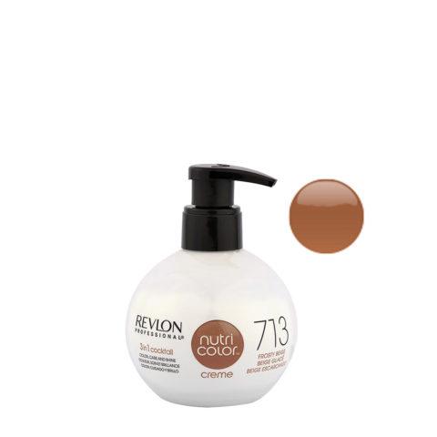Revlon Nutri Color Creme 713 Frosty beige 270ml - color mask