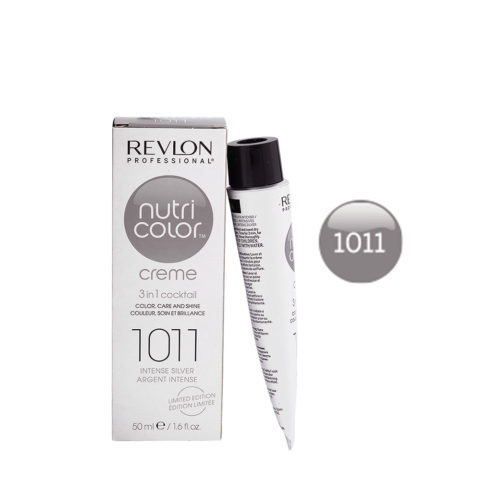 Revlon Nutri Color Creme 1011 Intense silver 50ml - color mask