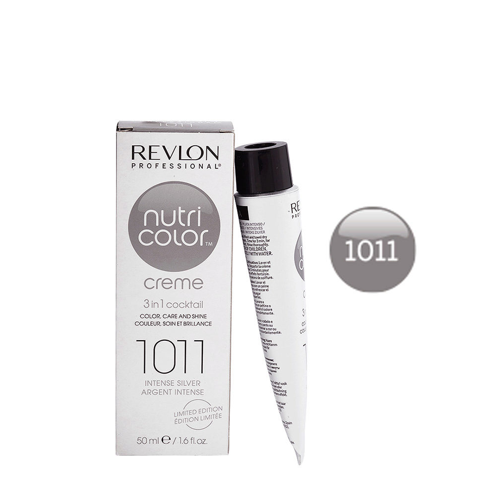 Hedendaags Revlon Nutri Color Creme 1011 Intense silver 50ml - color mask WL-04