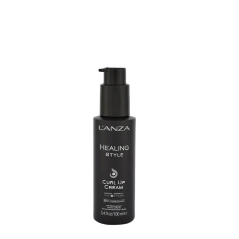 L' Anza Healing Style Curl Up Cream 100ml - curls cream