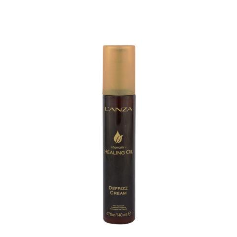 L' Anza Healing Oil De Frizz Cream 140ml - anti - frizz Serum