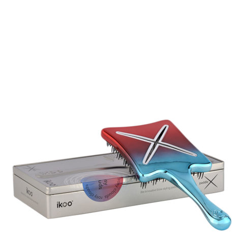 Ikoo Paddle X Metallic Rosy clouds - paddle brush