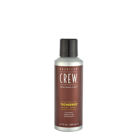 American crew Techseries Boost Spray Dry shampoo 200ml - dry shampoo