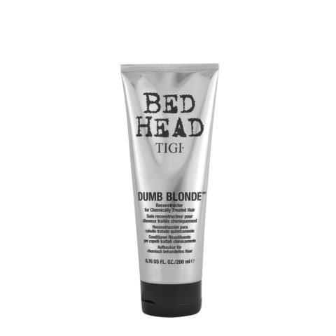 Tigi Bed Head Dumb Blonde Reconstructor 200ml - treated blonde hair conditioner